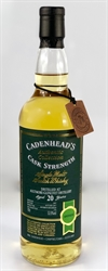 Aultmore 1997, 20yo, 53,9%. Cadenheads Authentic Collection