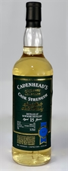 Bowmore 2002, 15yo. 54,3%. Cadenheads Authentic Collection.