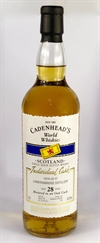 Cameronbridge (Single Grain), 1989, 28yo, 59%. Cadenehads World Whiskies.