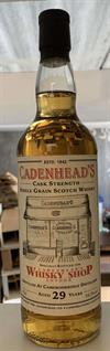 Cameronbridge (Single Grain) 1989, 29yo, 58,3%. Bottled for the London shop, November 2018.