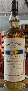 Cameronbridge Single Grain Whisky, 19yo, 59,4%, Cadenhead's World Whiskies