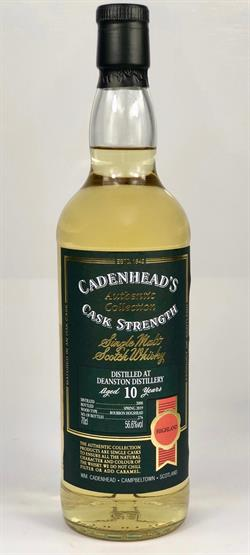Deanston 2008, 10yo 56,6%. Cadenheads Authentic Collection.