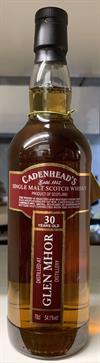 Glen Mhor 1982, 30yo, 54,1%, Cadenheads Closed Distilleries Series
