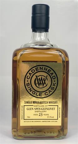 Glen Spey 1995, 23yo, 57,3%. Cadenheads International Release 26