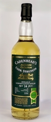 Glenburgie 2004, 14yo, 53,6%. Cadenheads Authentic Collection.