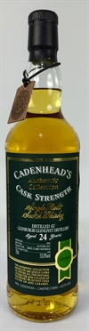 Glenburgie 1993, 24yo, 53%. Cadenheads Authentic Collection.