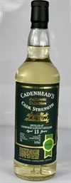 Glenburgie 2004, 13yo, 54,6%. Cadenheads Authentic Collection