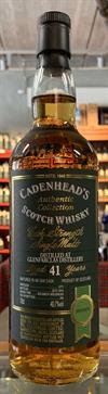 Glenfarclas 1973, 41yo, 40.7%. Cadenheads Authentic Collection