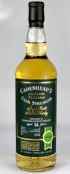 Glenrothes 2001, 16yo, 52,6%. Cadenheads Authentic Collection.