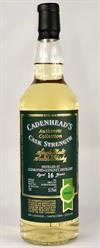 Glenrothes, 2002, 16yo, 55,2%. Cadenheads Authentic Collection.