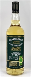 Inchgower 2009, 10yo, 56,6%. Cadenheads Authentic Collection.