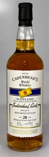 North British (Single Grain Whisky) 1989, 28yo, 59,5%. Cadenheads World Whiskies