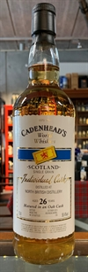 North British (Single Grain Whisky) 1989, 26yo, 58,4%. Cadenheads World Whiskies.