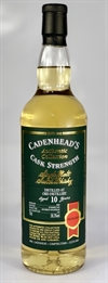 Ord 2008, 10yo, 58,3%. Cadenheads Authentic Collection.