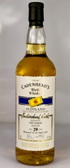 Port Dundas (Single Grain) 1988, 29yo, 50,7%. Cadenheads World Whiskies.