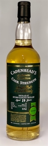 Speyside 1998, 19yo. 49,4%. Cadenheads Authentic Collection.