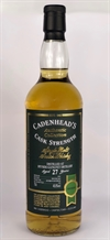 Speyside 1991, 27yo, 48,8%. Cadenheads Authentic Collection.