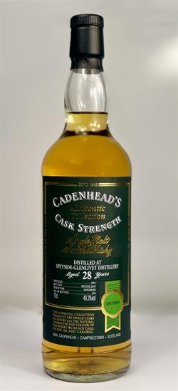 Speyside 1991, 28yo, 49,3%. Cadenheads Authentic Collection.