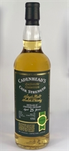 Strathmill 1993, 25yo, 49,9%. Cadenheads Authentic Collection.
