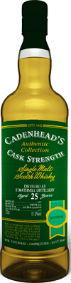 Strathmill 1993, 25yo, 51,9%. Cadenheads Authentic Collection.
