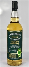 Tamnavulin 1992, 26yo, 51,3%. Cadenheads Authentic Collection.