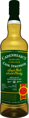 Tomatin 2008, 10yo, 54,9%. Cadenheads Authentic Collection.