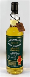 Tullibardine 1993, 24yo, 45,5%. Cadenheads Authentic Collection.